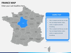 France map PPT slide 11
