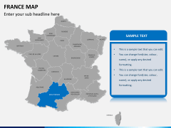 France map PPT slide 12