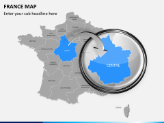 France map PPT slide 15
