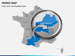 France map PPT slide 16