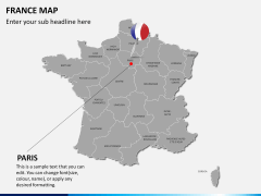France map PPT slide 20