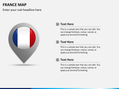 France map PPT slide 22