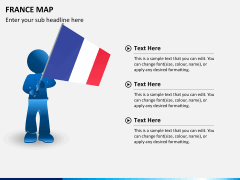 France map PPT slide 23