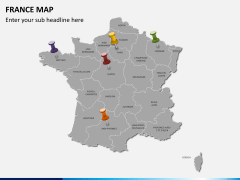 France map PPT slide 4