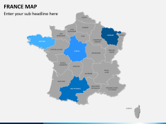 France map PPT slide 8