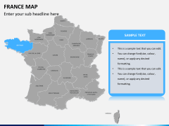 France map PPT slide 9