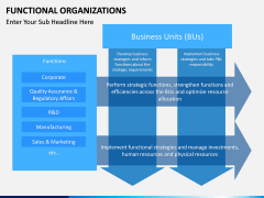 Functional organization PPT slide 2