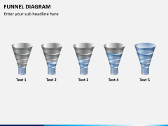 Funnel diagram PPT slide 4
