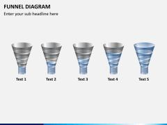 Funnel diagram PPT slide 4