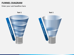 Funnel diagram PPT slide 7