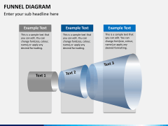 Funnel diagram PPT slide 8