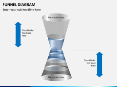 Funnel diagram PPT slide 9