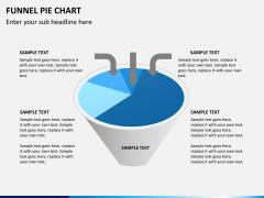 Funnel pie chart PPT slide 2