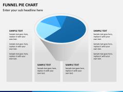 Funnel pie chart PPT slide 3