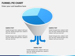 Funnel pie chart PPT slide 4
