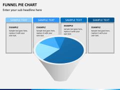 Funnel pie chart PPT slide 5