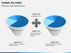 Funnel pie chart PPT slide 8