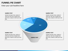 Funnel pie chart PPT slide 9