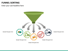 Funnel sorting PPT slide 10