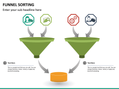Funnel sorting PPT slide 12