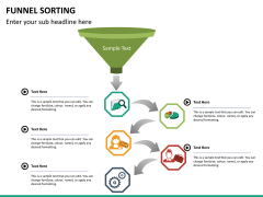Funnel sorting PPT slide 13
