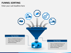 Funnel sorting PPT slide 1