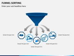 Funnel sorting PPT slide 2