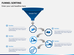 Funnel sorting PPT slide 5