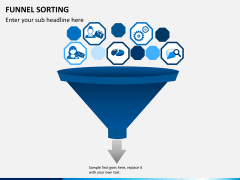 Funnel sorting PPT slide 6
