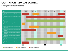 Gantt charts PPT slide 26