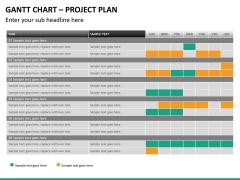 Gantt charts PPT slide 27