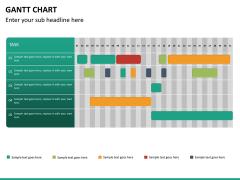 Gantt charts PPT slide 29