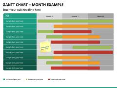 Gantt charts PPT slide 30