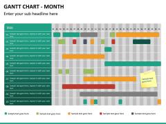 Gantt charts PPT slide 18