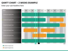 Gantt charts PPT slide 25