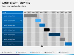 Gantt charts PPT slide 1