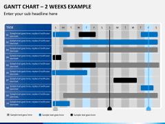 Gantt charts PPT slide 10