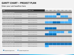 Gantt charts PPT slide 11