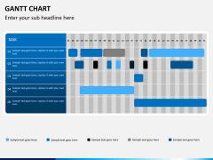 Gantt charts PPT slide 13