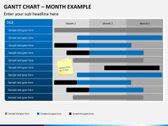 Gantt charts PPT slide 14