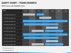 Gantt charts PPT slide 16