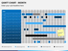 Gantt charts PPT slide 2