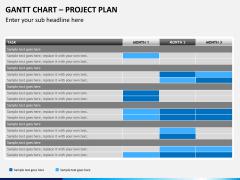 Gantt charts PPT slide 4