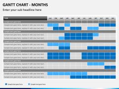 Gantt charts PPT slide 5