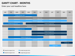 Gantt charts PPT slide 6