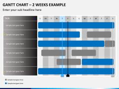 Gantt charts PPT slide 9