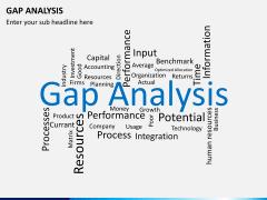 Gap analysis PPT slide 24