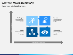 Gartner magic quadrant PPT slide 1