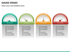 Gauge stages PPT slide 24