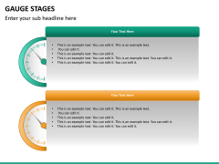 Gauge stages PPT slide 26